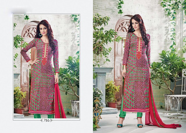 Designer summer wear heavy anarkali suits