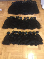 Virgin Hair Wefts Turkish Anatolian Hair Weaving 14""