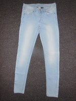 Ladies Full washed Bleached Denim Factory Trouser