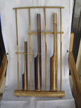 Angklung Big 3 Tubes Melody Bamboo Sundanese Traditional Music Instrument