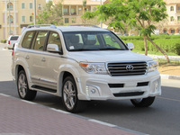 NEW CAR 2015 TOYOTA LAND CRUISER 200 WALD EDITION