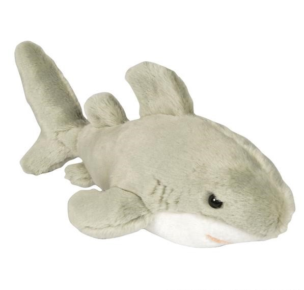 "16"" HERITAGE PLUSH GREAT WHITE SHARK"