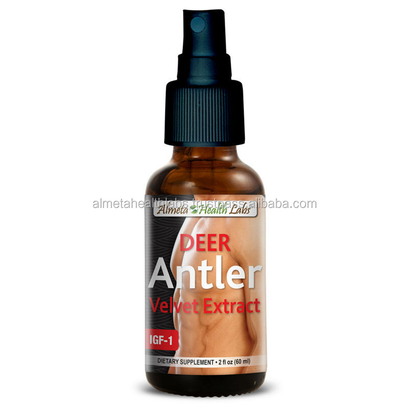 Made in USA Liquid Formula 2 fl oz (60 ml) DEER ANTLER SPRAY