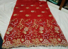 Indian African Net Lace French Lace Fabric / Wrappers