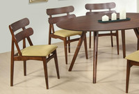 Romance modern solid timber dining set