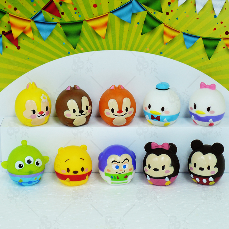 Cake Decoration Tsum Tsum 02 10pcs