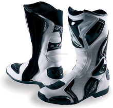 Motorcycle Mens Racing boots Waterproof Motocross