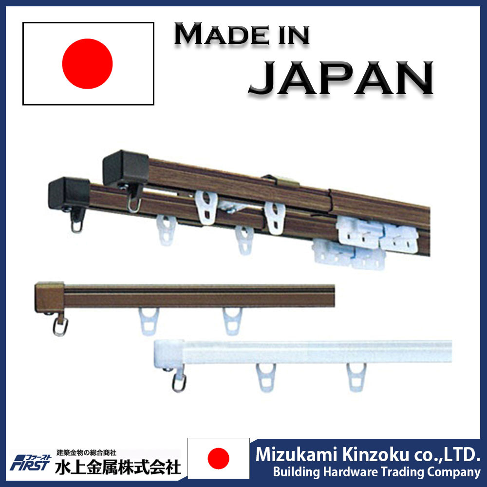Best-selling and Convenient window rail curtain single bracket at reasonable price made in Japan