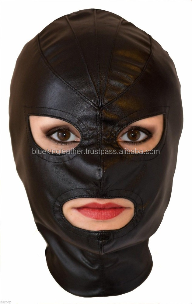 Sex mask, new model 2016. Adult Games, Sex Product. Sheep leather