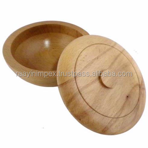 Burma Teak Wood Marble Fruit Bowl for Bulk Order