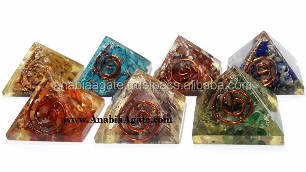 Green Aventurine 5pcs Sacred Geometry Set With Wooden Box : Platonic Crystals Box