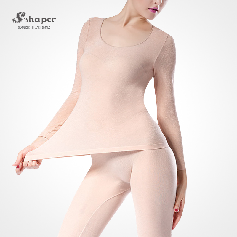 S-SHAPER Women 37 Temperature Underwear Seamless Winter Warm Cloth Keep Warm Ultrathin Breathable High Elastic Corset Legging