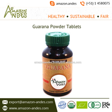 Guarana Powder Capsules and Tablets for Curing Sleep and Fatigue Issues