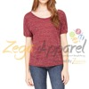 Zega Apparel fashion t shirt wholesale / women t shirt / tshirt women with short sleeve