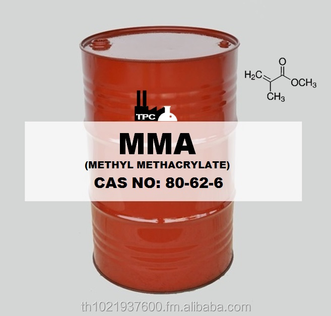 MMA - Methyl Methacrylate Monomer 99.99% Eco-Drum, New drum, Good lead time