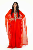 RED COLOR EGYPT STYLE WOMEN KAFTAN