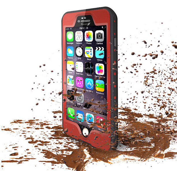 fashion Luxury Waterproof transparent cover i phone5 phone6 case for iphone 5 5s 6 6s plus capa para coque case for iphone 6plus