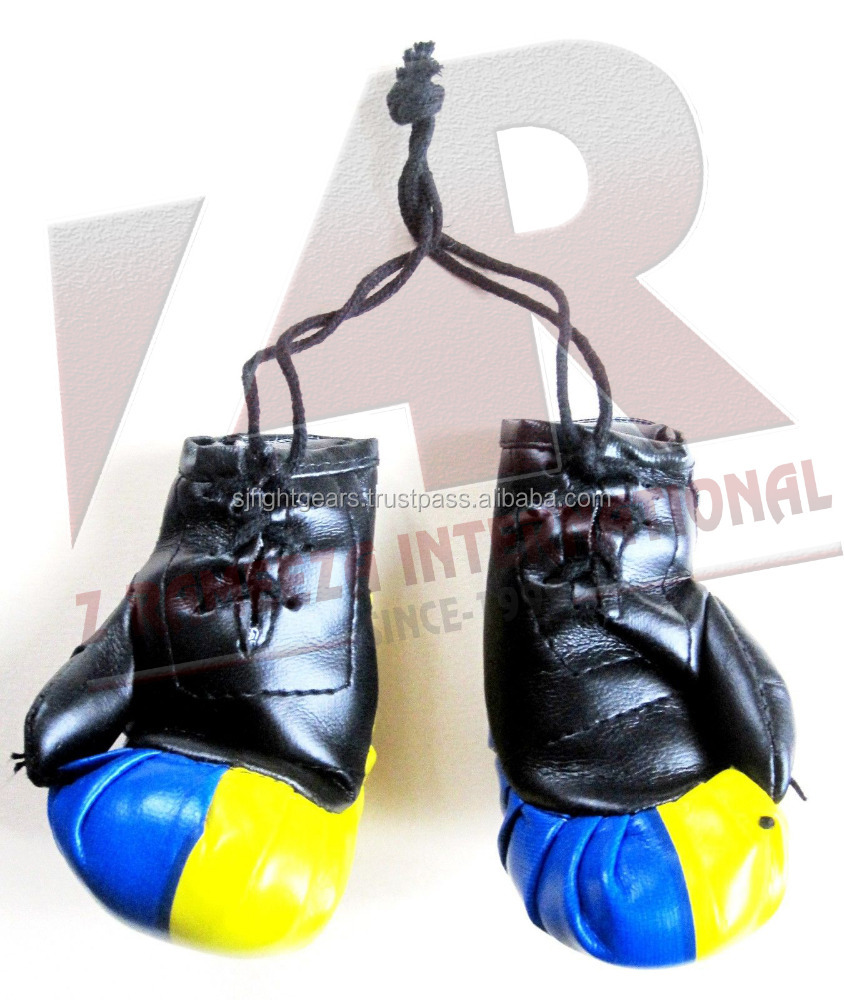 new arrival products mini boxing gloves keychain for souvenirs