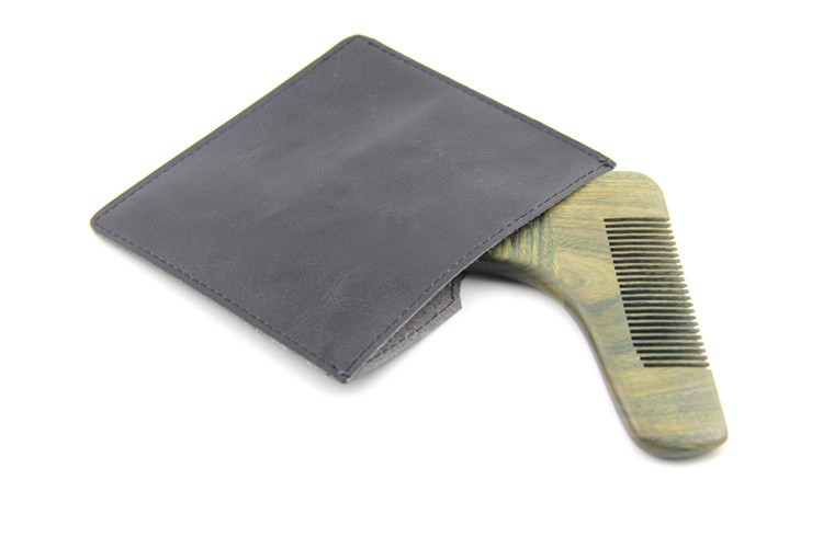 hot selling metal plastic wooden grooming beard shaping tool