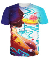 Banana Split latest sexy design sublimation t shirt/sublimation t shirt for adult/BERG