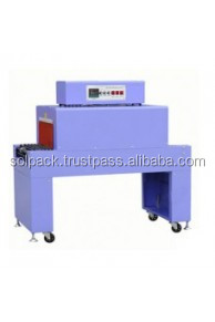 Solpack semi automatic shrink machine