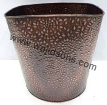 garden used enamel planter for decor | indoor used planter for sale | cooper made planter