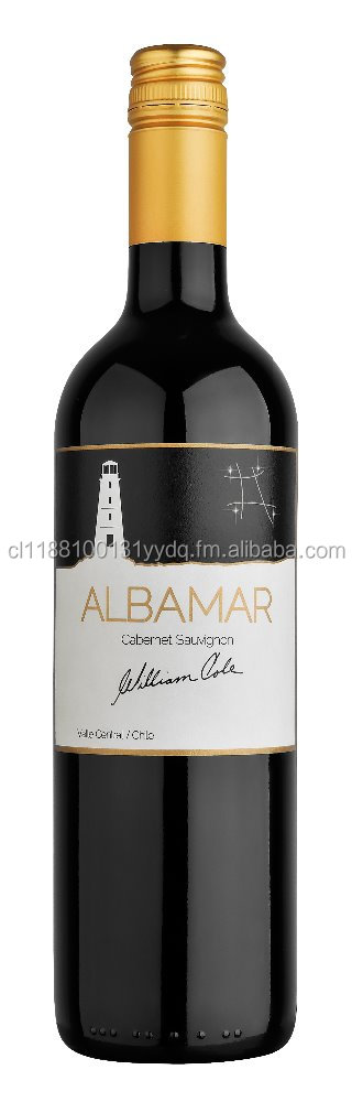 ALBAMAR RED AND WHITE WINES FROM CHILE ( CORK AND SCREW CAP)