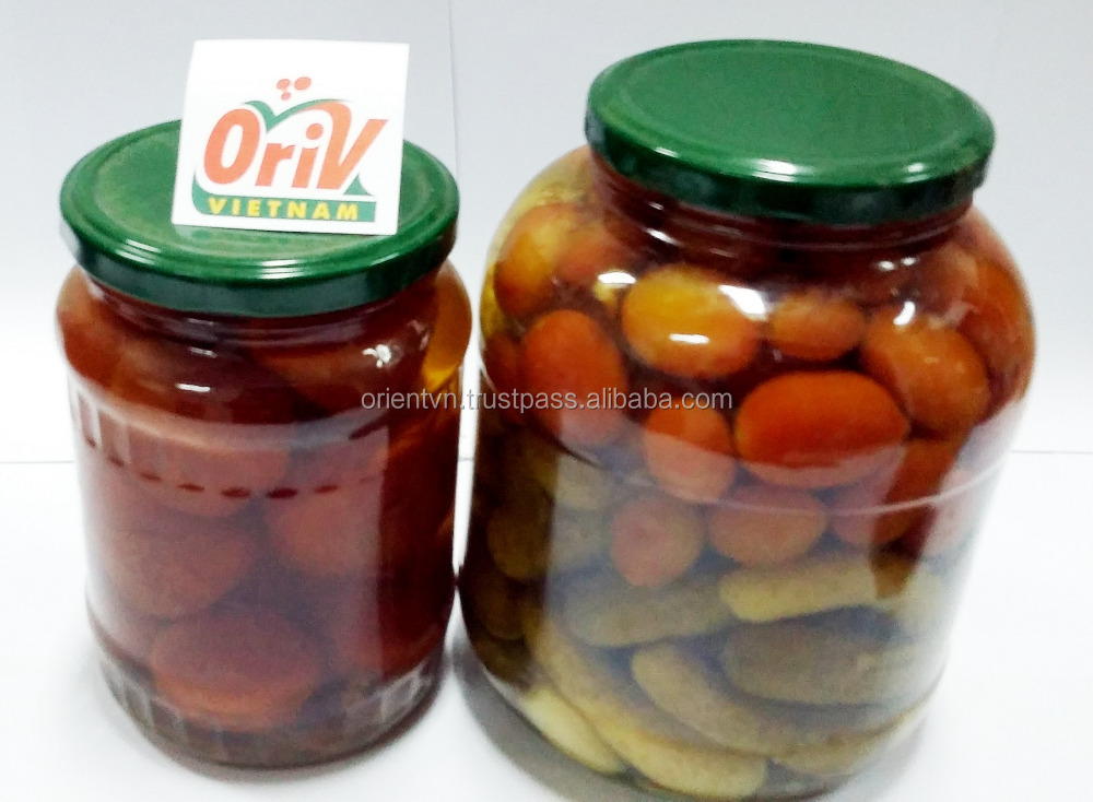 Crop 2016: Pickled tomatoes/ cherry tomatoes origin Vietnam