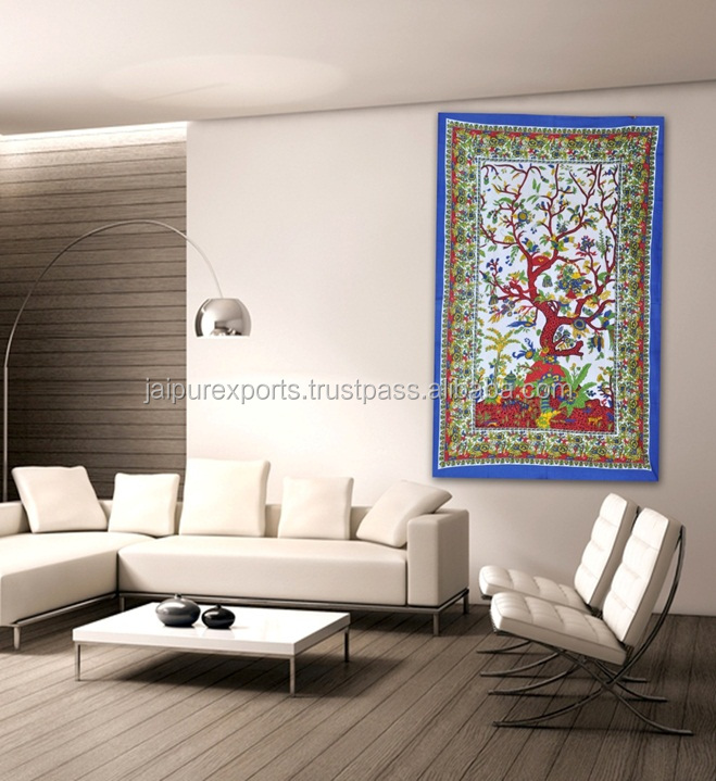 CUSTOM MADE PRINTED WALL HANGING TAPESTRIES