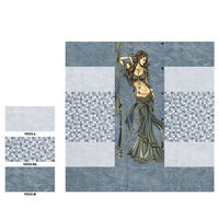 3d Bathroom Wall tile 30 x 60