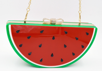 Colorful Acrylic Watermelon handbag