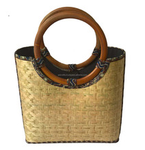 New fashion style bamboo shoulder bag-elgnet bamboo bag