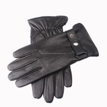 Custom made fashion dress gloves sheepskin hand leather gloves