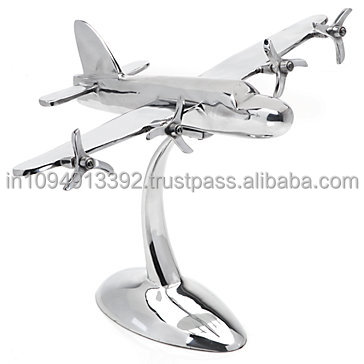 aluminum old model aircraft/vintage metal aircraft model/business gift aircraft model