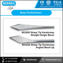 Dimensionally Accurate Sharp Tip Keratomes with Longer Service Life at Low Price