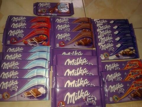 All Milka Way product 100g Tablet/Chocolate