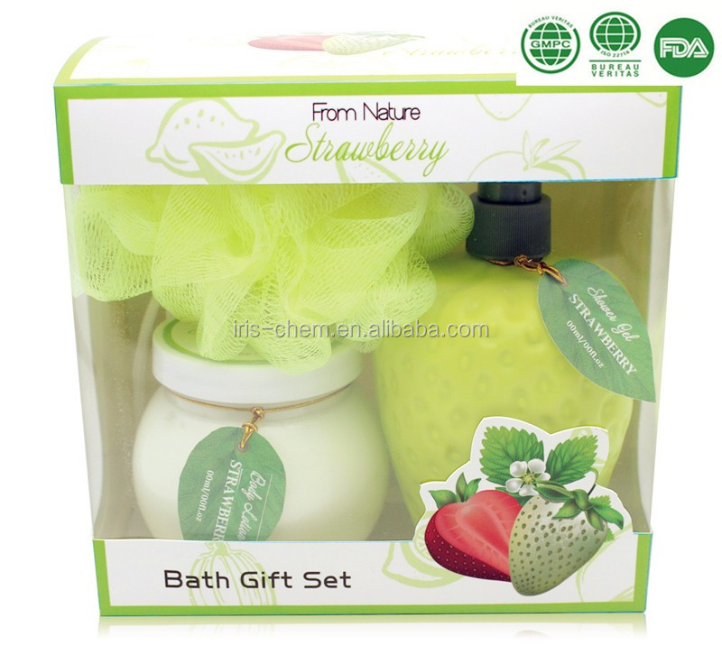 wholsale of Massage Bath Spa Gift Set scented Shower gel Body lotion