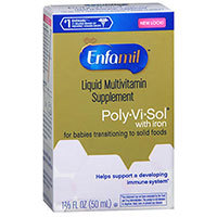 Enfamil Poly-Vi-Sol Multivitamin Supplement Drops With Iron, 50 ml by Enfamil