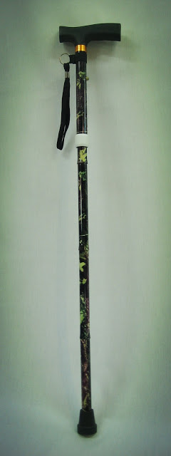 Penang walking aid stick (tongkat) foldable with light retail wholesale selling online courier