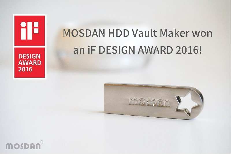 """MOSDAN HDD Vaults Maker""- USB & HDD encryption"