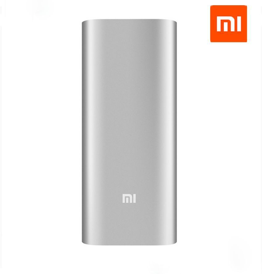 100% Authentic Xiaomi Power Bank 16000mAh Portable Charger Mi Powerbank External Battery Pack for Mobile Phone Backup Powers