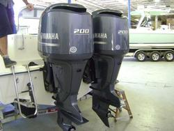 Free Shipping Used Yamaha 200HP 4 Stroke Outboard Motor Engine