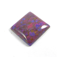 Distinctive Natural Purple Mohave Turquoise 3.06 gms Square cab 19mm, gemstone for jewellery IG2132