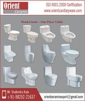 Excellent Design One Piece Toilet Available In Different Sizes and Designs