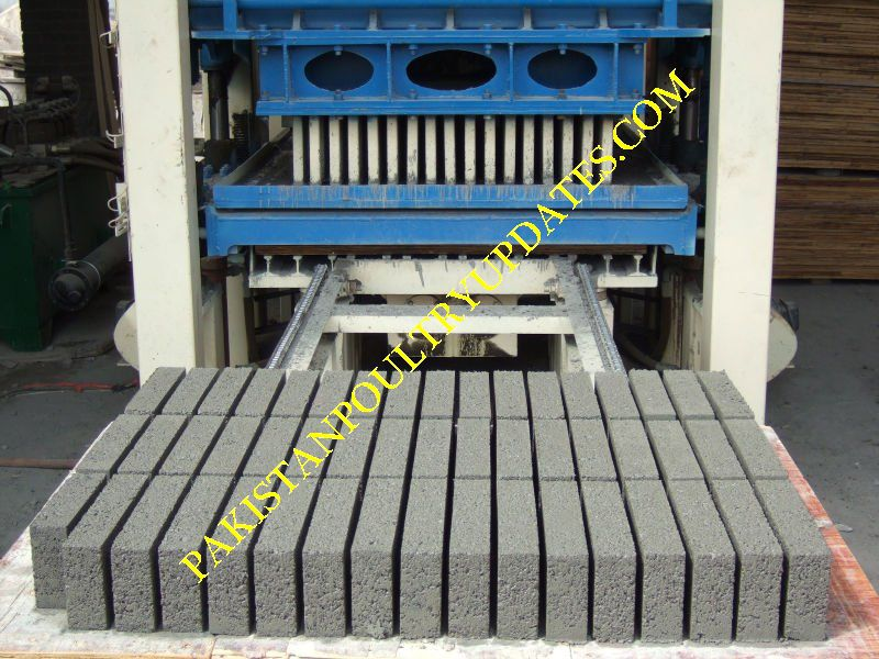 Concrete block TUFF TILE PLANT new FOR SALE IN PAKISTAN