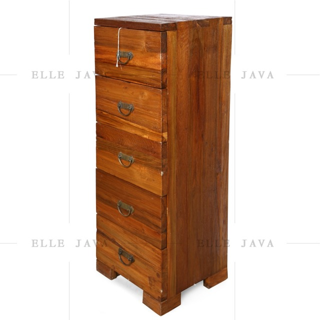 Wooden Furniture Chest with 5 Drawers Living Room Furniture