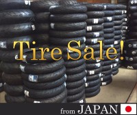 Major brand new motorcycle tires from Japan