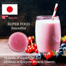 High quality and Low calorie dragon fruit juice super food smoothie for Glad to woman , diet tea also available