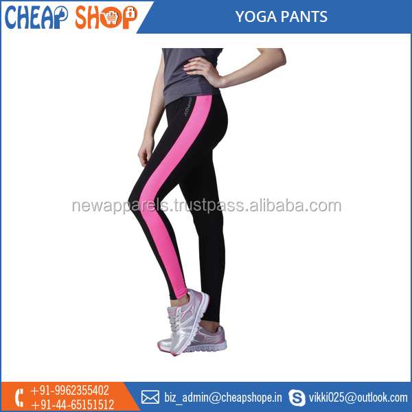 Sports Wear, Stretchable Yoga Pants, Colorful Fitness Spandex Leggings for Sale