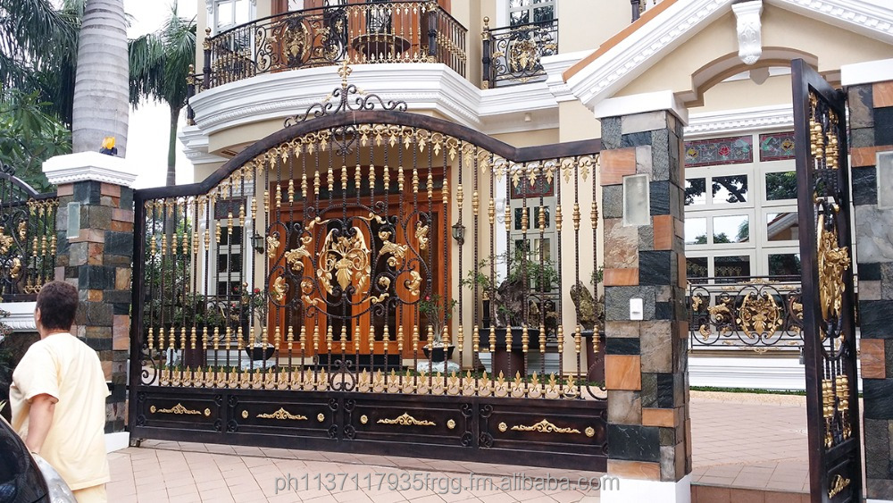 Customized Wrought Iron Gates